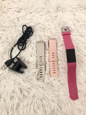 Fitbit Charge 2 w/ Charger and Bands OBO for Sale in San Diego, CA