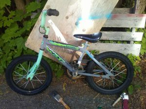 NEXT brand 16in boys bike have orig training wheels also if needed for Sale in Thomaston, ME