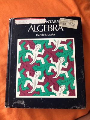 Elementary Algebra with Teacher Guide by Harold R. Jacobs for Sale in Virginia Beach, VA