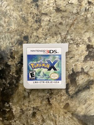 Nintendo 3DS Pokémon X for Sale in Miami, FL
