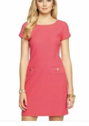 Lilly Pulitzer Coco Dress in Island Coral for Sale in Stone Mountain, GA