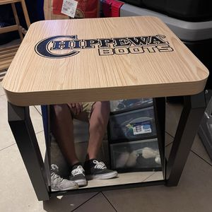 Shoe Fitting Bench With Mirror for Sale in Chino, CA