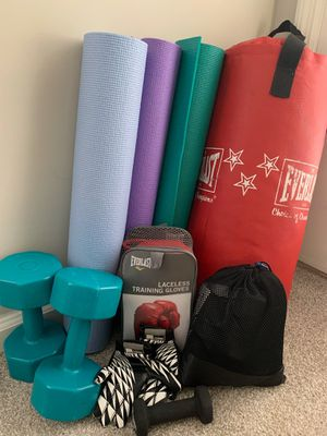 Home fitness workout equipment set for Sale in Marietta, GA