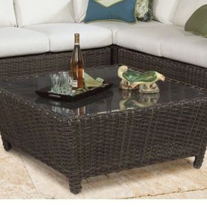New**Outdoor Coffee Table w/ Glass Top for Sale in Lake Mary, FL