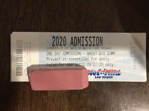 Wet n Wild Admission Tickets for Sale in North Las Vegas, NV