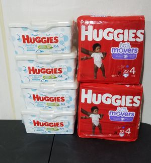 Huggies Baby Bundle Size 4 for Sale in Suffolk, VA