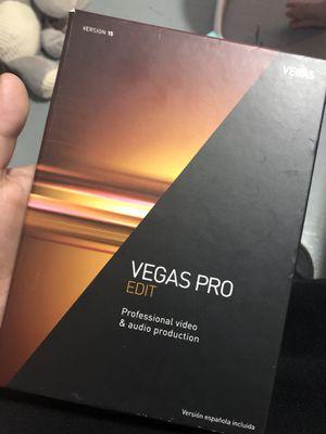 Vegas pro edit Version 15 for Sale in Pawtucket, RI