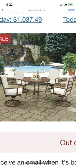 Patio furniture for Sale in Dearborn Heights, MI