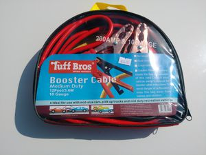 12 feet 200 Amp Battery Jumper Cables for Sale in Huntington Beach, CA