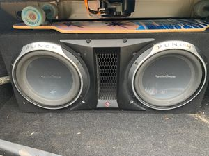 Rockford Punch P3 Subwoofer for Sale in Spring Valley, NY