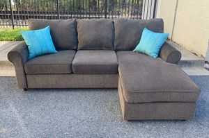Sectional couch (delivery free) for Sale in Bethesda, MD