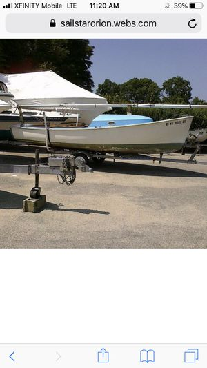 Wanted. Looking for an old Sailstar Orion sailboat for a winter restoration project. for Sale in Kingston, MA