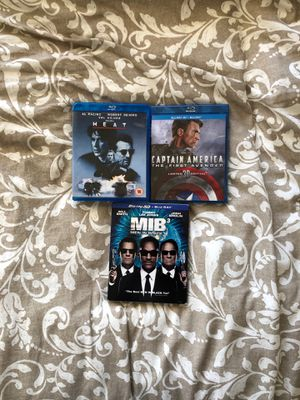 3 Blu-Ray movies for Sale in Abilene, TX