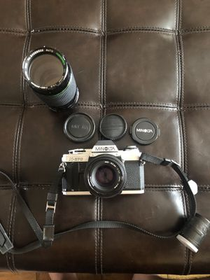 Minolta X-370 Film Camera with extra lenses for Sale in The Bronx, NY