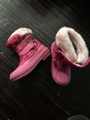 Snow Boots little girl 9/10 for Sale in Nashville, TN