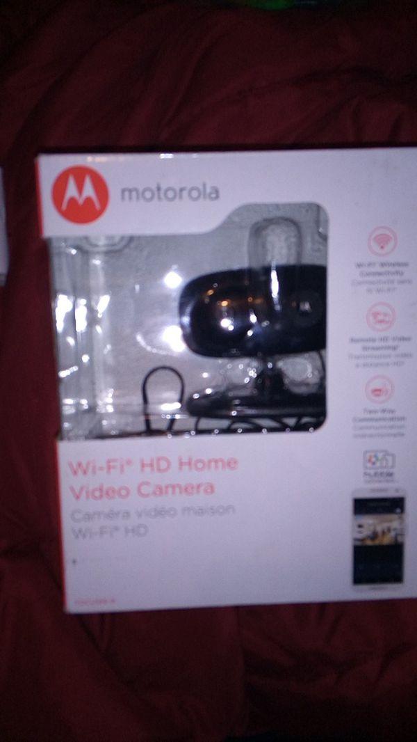 Motorola wifi security camera