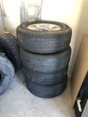 Stock wheels and tires for Toyota for Sale in Tucson, AZ