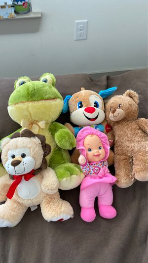 Brand new stuffed animals and dolls for Sale in Richardson, TX
