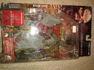 BLAIR WITCH Project McFarlane Movie Maniacs Horror Movie action figure for Sale in Tracy, CA