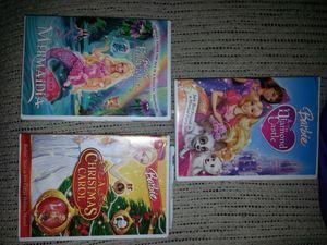 Barbie DVD set 10$...new wood chest set 10$ firm for Sale in Glen Burnie, MD
