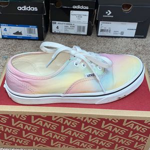 Multi Color Vans Size 2 Youth for Sale in Duluth, GA