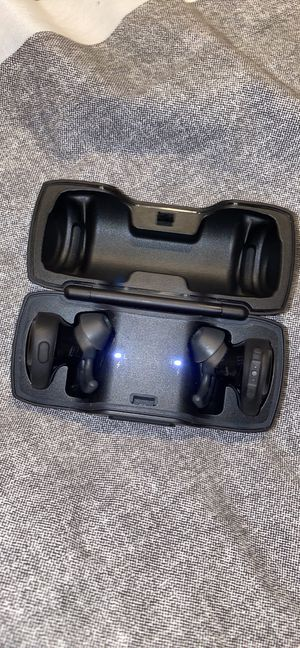 Bose Soundsport wireless in ear headphones with charging case for Sale in Richmond, VA