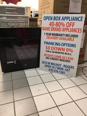 """GE 30"""" Built-In Single Electric Wall Oven for Sale in Little Flock, AR"""