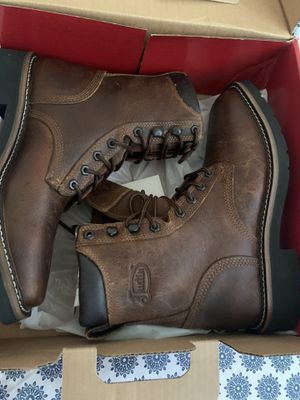 Boots Justin work 7D but bigger best to say 8 for Sale in Seattle, WA