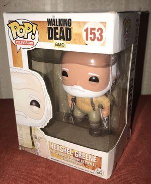 Funko POP The Walking Dead Hershel (damaged box) for Sale in El Paso, TX