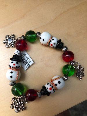 Pier 1 winter bracelet for Sale in Chicago, IL