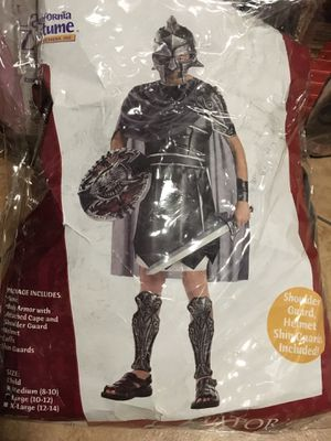 HALLOWEEN COSTUME WARRIOR FOR KIDS SIZE 8-10 for Sale in Miami, FL