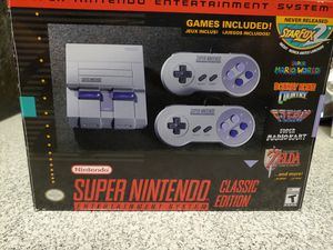 Super Nintendo: Classic Edition for Sale in Dallas, TX
