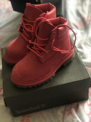 Toddler girl timberland boots 7c for Sale in Center Point, AL