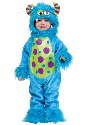 Little Monster Toddler halloween costume (12 months - 24 months) . for Sale in Guadalupe, AZ