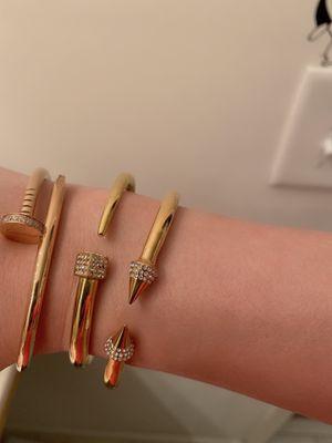Ladies fashion bracelets &ring $30 each for Sale in Nashville, TN