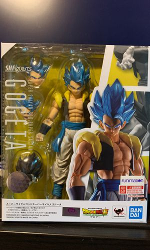 Sh Figuarts Dragonball Super Broly Movie SSGSS Gogeta for Sale in Federal Way, WA
