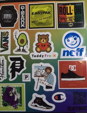 Zumiez Assorted Sticker Sheet for Sale in Pismo Beach, CA