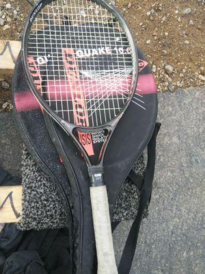 Pair of tennis rackets with protective case for Sale in Las Vegas, NV
