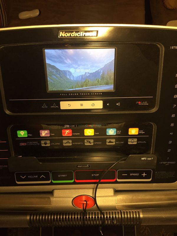 Nordictrack Foldable Treadmill