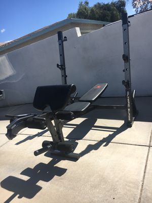 Marcy Diamond Elite Olympic Weight Bench/Squat for Sale in Tucson, AZ