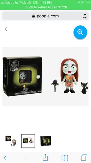 Nightmare before Christmas sally figure for Sale in San Antonio, TX