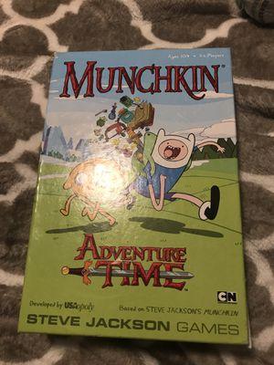 Munchkin adventure time board game for Sale in Vienna, VA