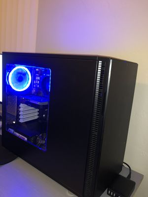 Gamer Gaming Computer Pc Ryzen 5 2400G DDR4 8GB GTX1050 RGB for Sale in Hollywood, FL