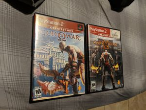 Good condition God of War 1 and 2 with bonus for Sale in Cary, NC