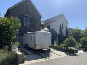 +++ 8 x 16 ENCLOSED CARGO TRAILER with interior LED lights +++ for Sale in San Juan Capistrano, CA