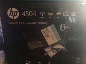 Hp Printer 35$ with box barely used for Sale in Pontiac, MI
