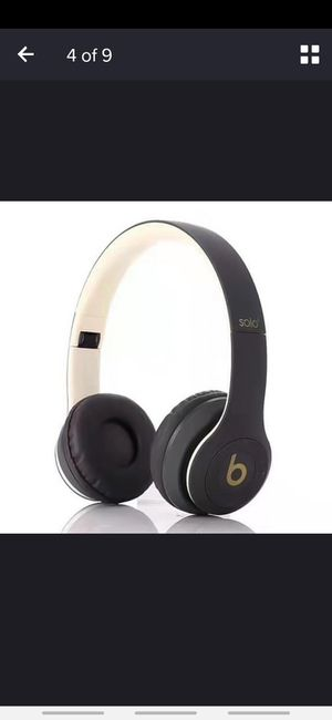 Beats Solo 3 *Gold & Black for Sale in GA, US