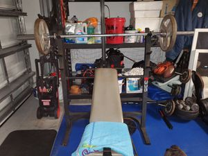 Pro 335 incline bench,with leg press for Sale in Jupiter, FL