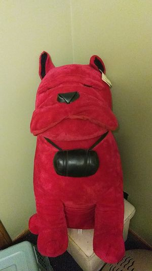 Red Bulldog stuffed animal. $25. for Sale in New Franklin, OH