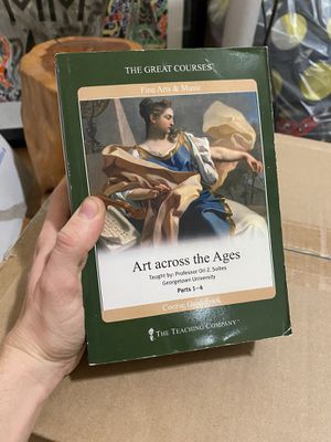 Great Courses Art Across the Ages DVDs & Book for Sale in Brooklyn, NY
